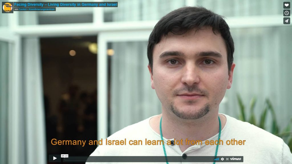 Facing Diversity – Living Diversity in Germany and Israel