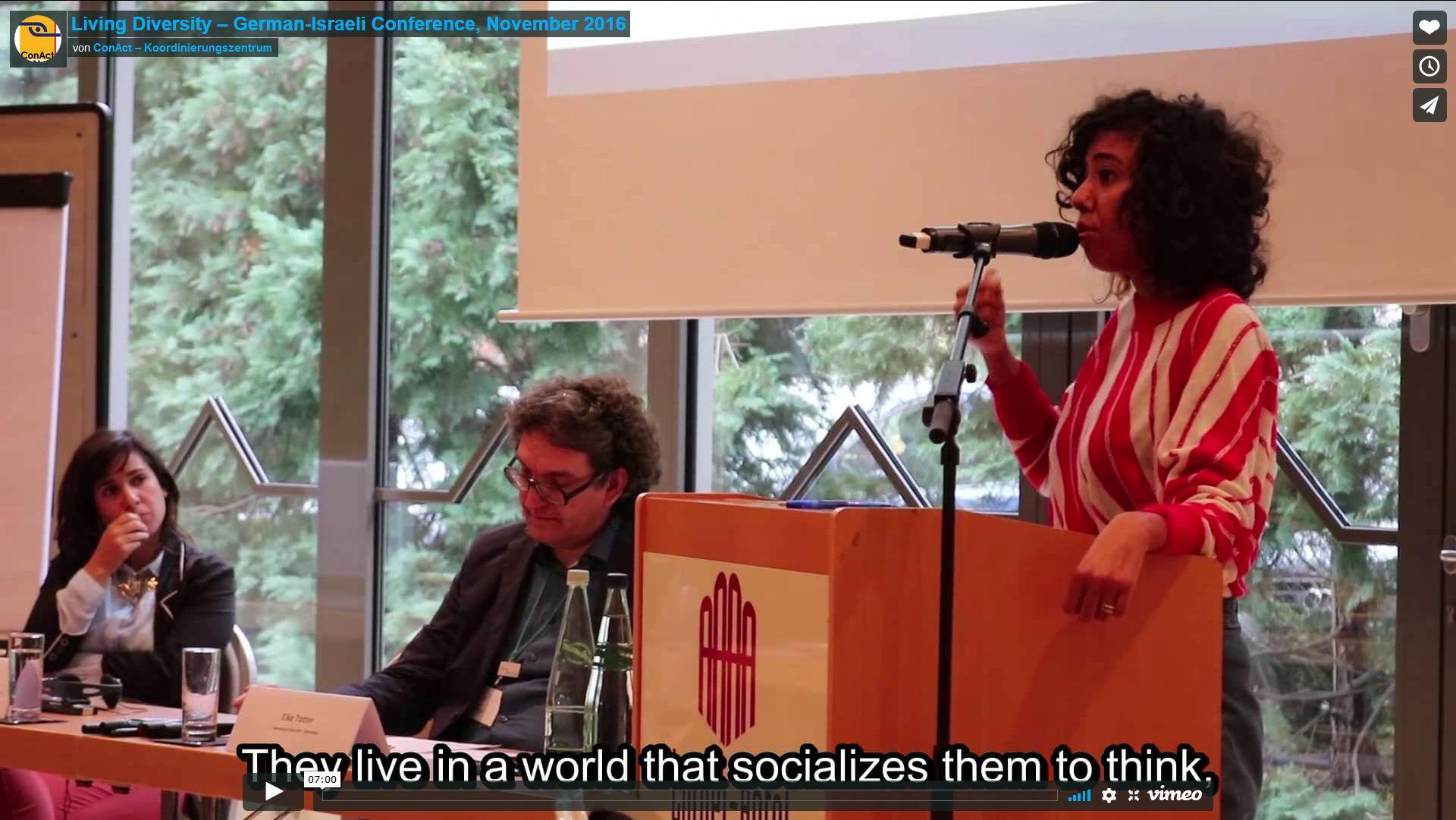 Living Diversity – German-Israeli Conference, November 2016