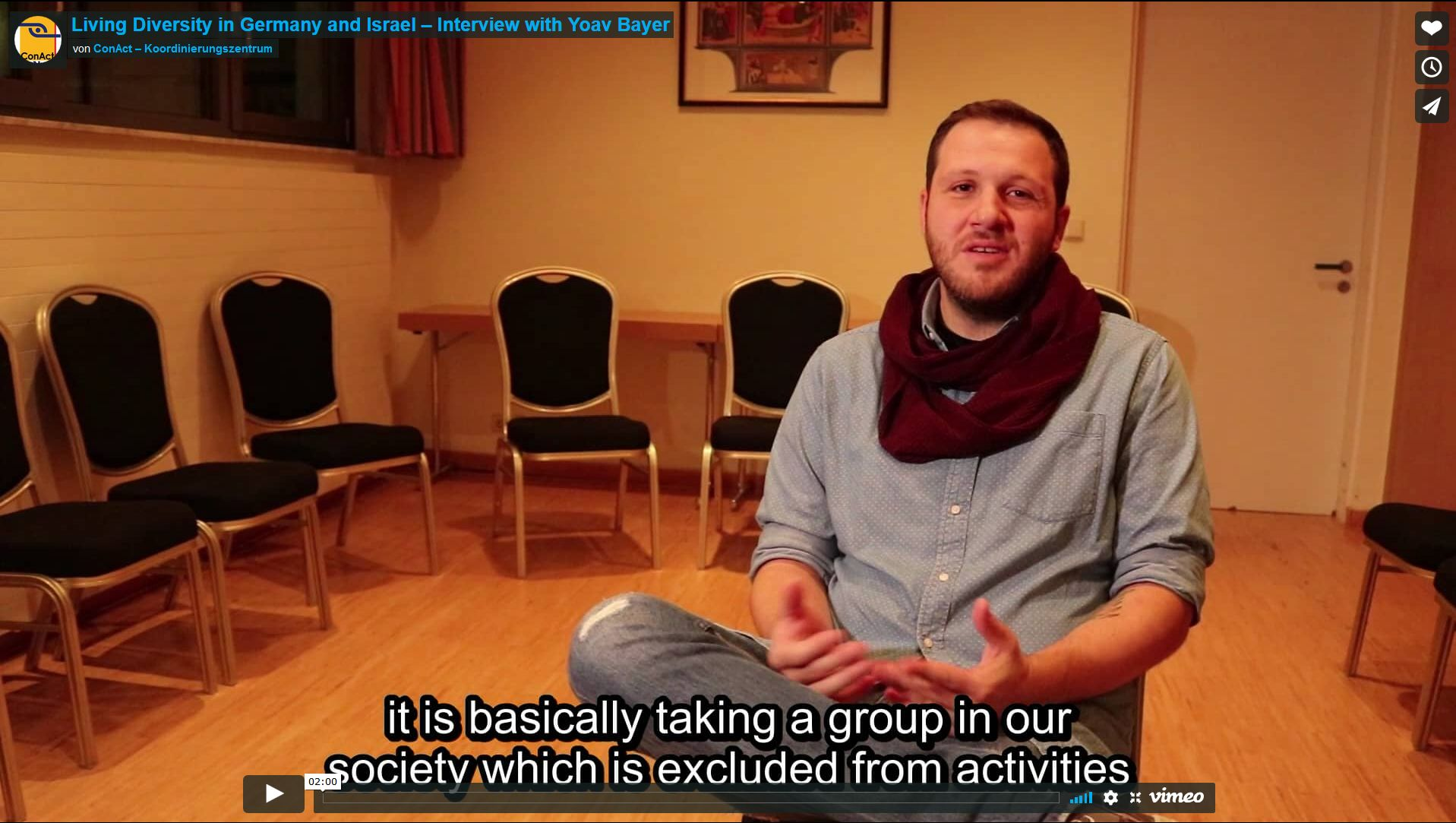 Living Diversity in Germany and Israel – Interview with Yoav Bayer