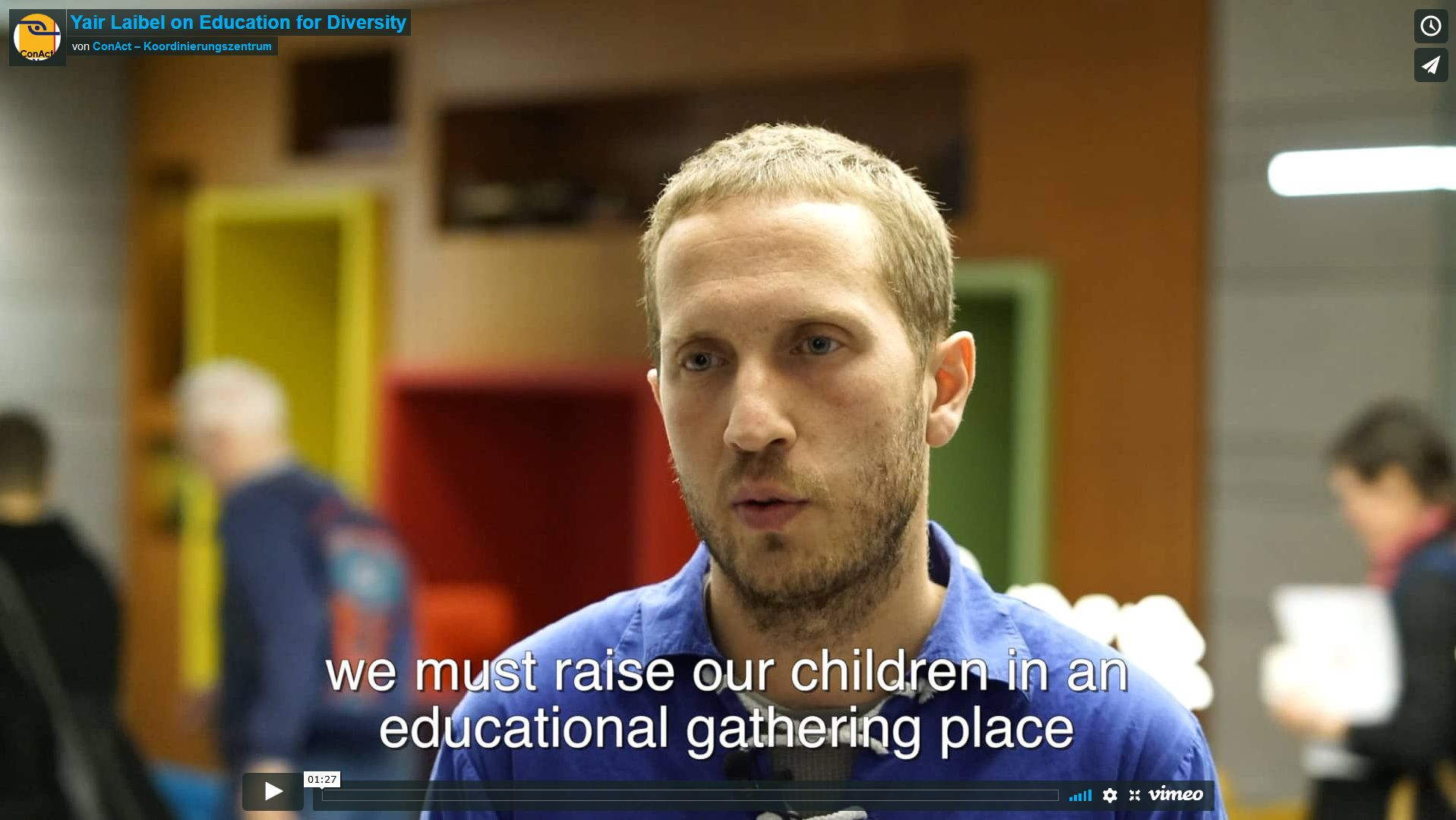 Yair Laibel on Education for Diversity